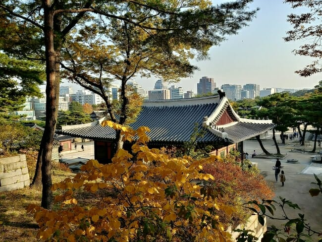 Changgyeonggung palace in Seoul