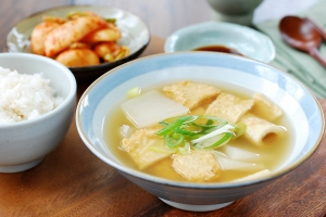 Eomuk Guk (Fish Cake Soup)