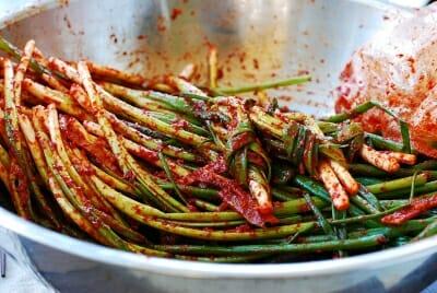 Pa Kimchi (Scallion Kimchi)