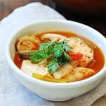 Domi Maeuntang (Spicy Fish Stew with Red Snapper)