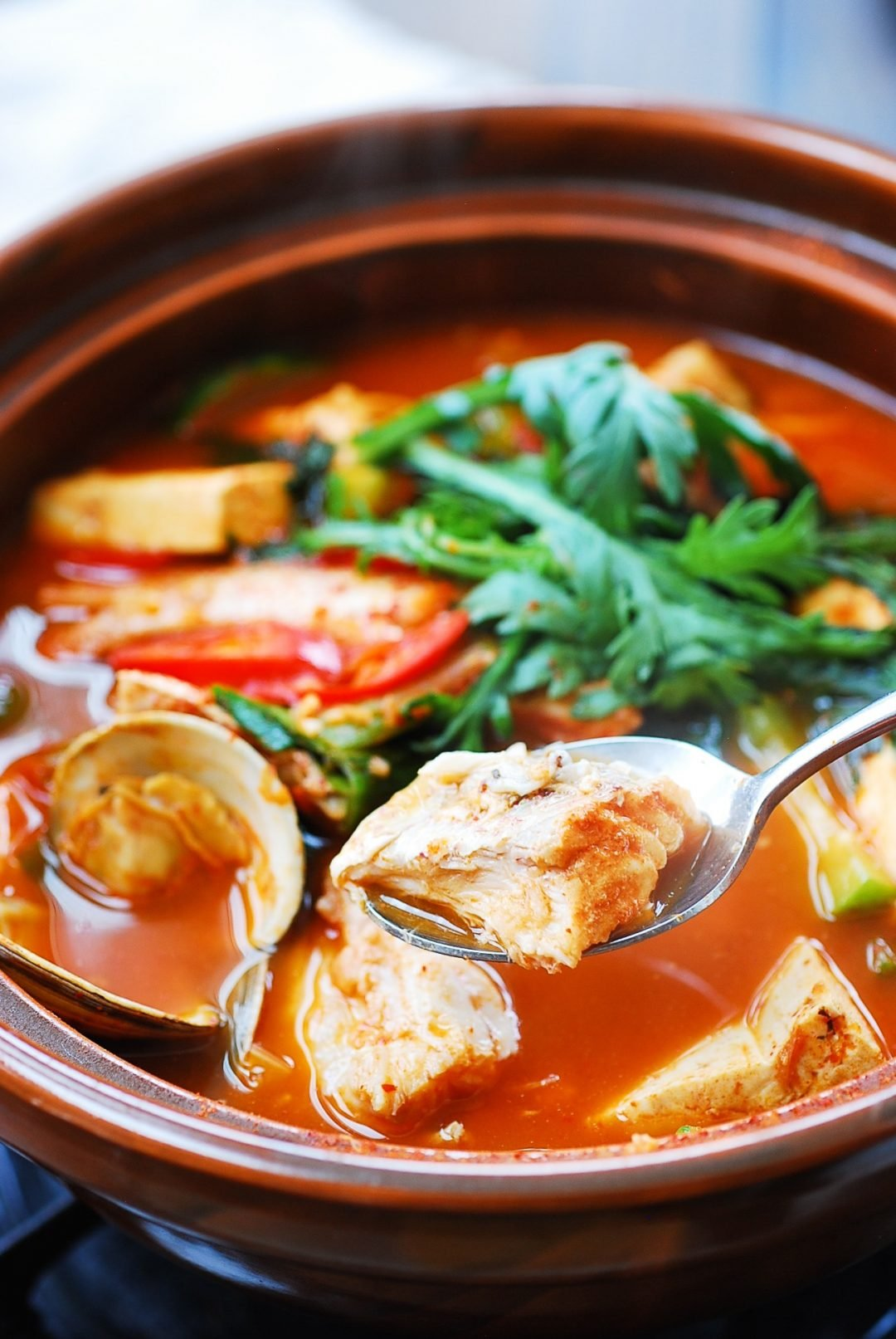 DSC 2725 2 e1613456389474 - Domi Maeuntang (Spicy Fish Stew with Red Snapper)