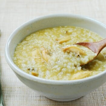 DSC 2767 350x350 - Jeonbokjuk (Abalone Porridge)