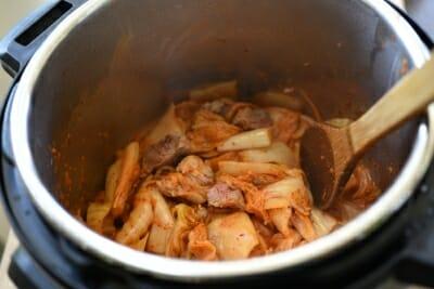 DSC 0239 e1527564415153 - Instant Pot Kimchi Jjigae (Stew)