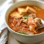 Instant Pot Kimchi Jjigae (Stew)