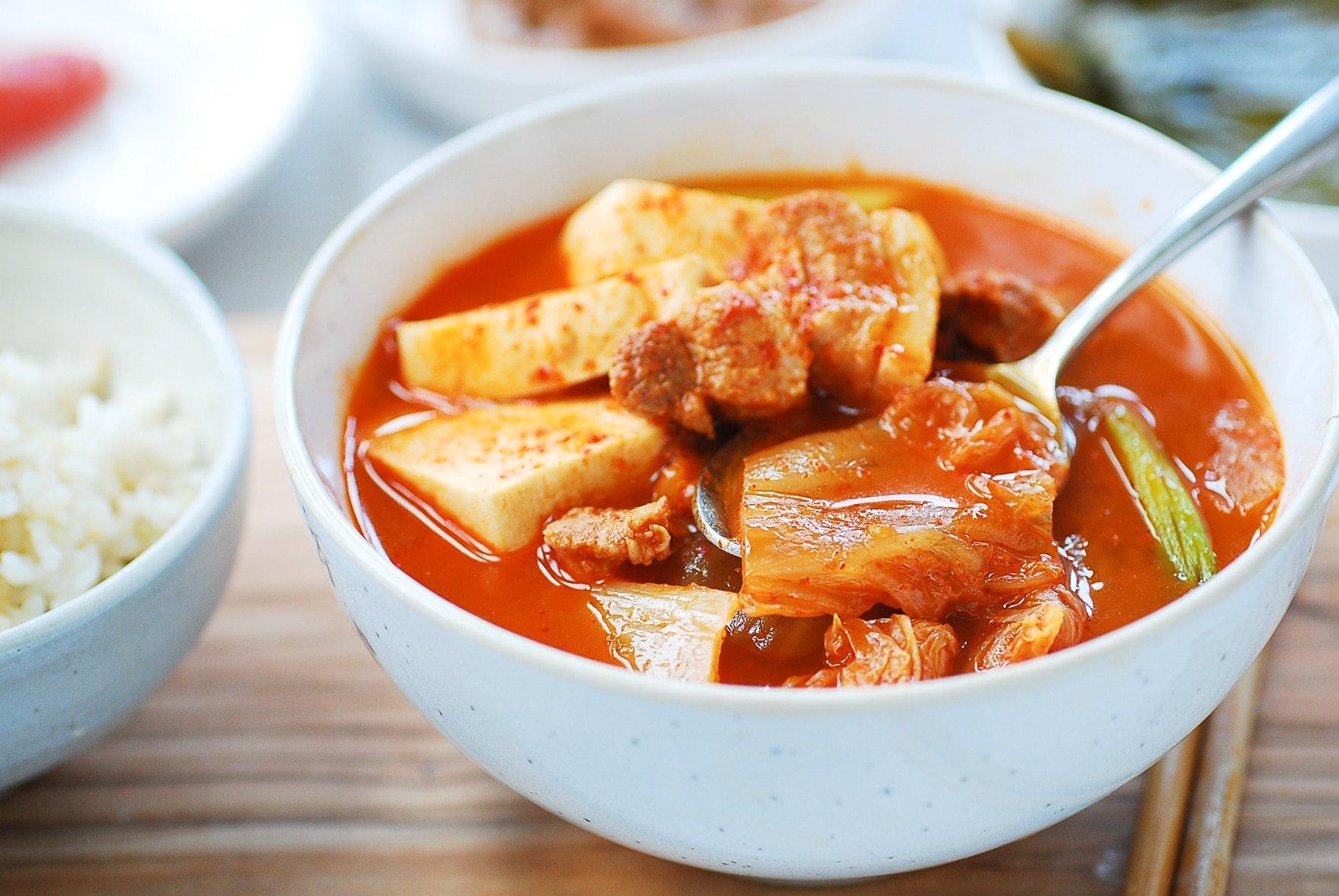 DSC 0328 - Instant Pot Kimchi Jjigae (Stew)
