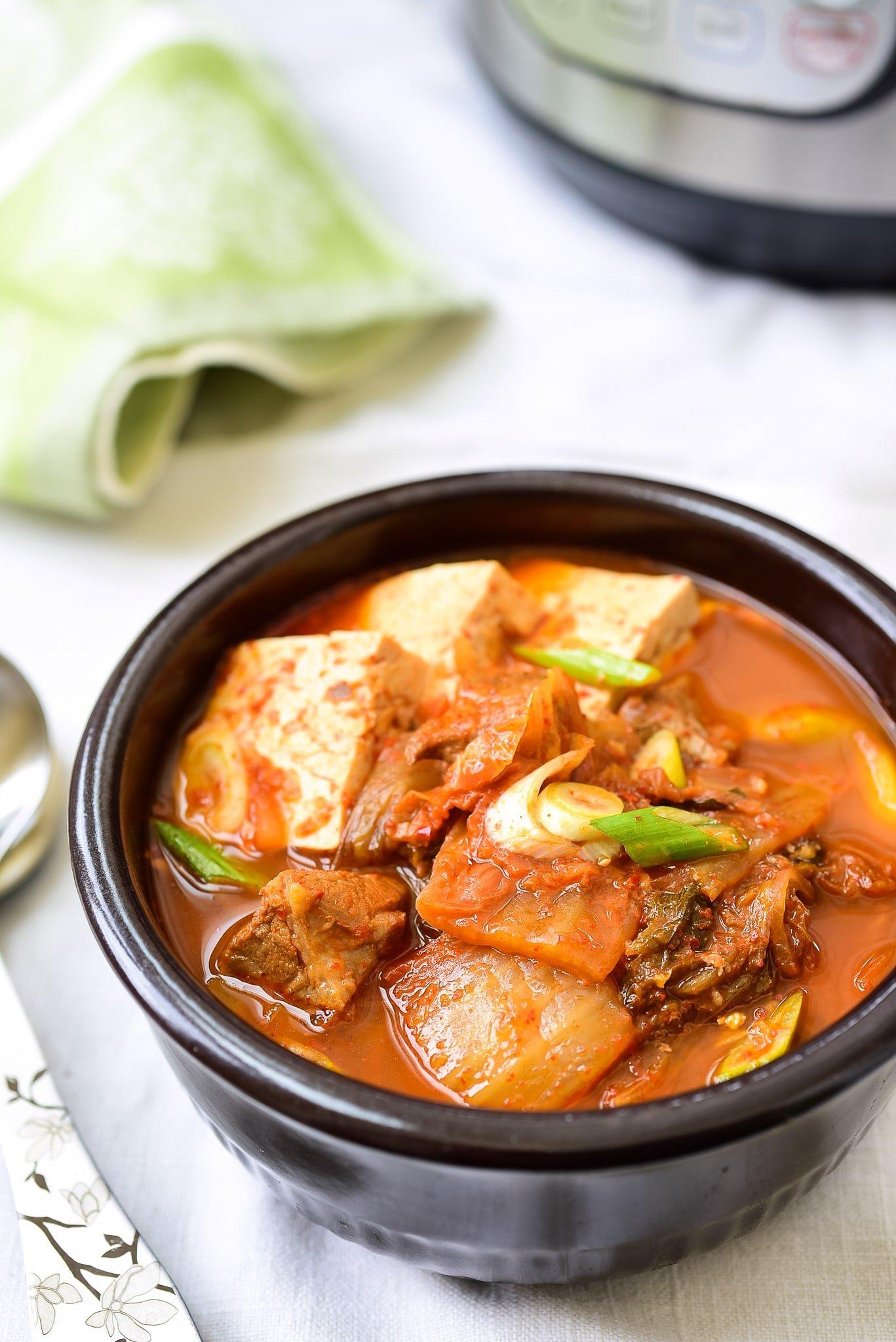 DSC 1980 1 - Instant Pot Kimchi Jjigae (Stew)