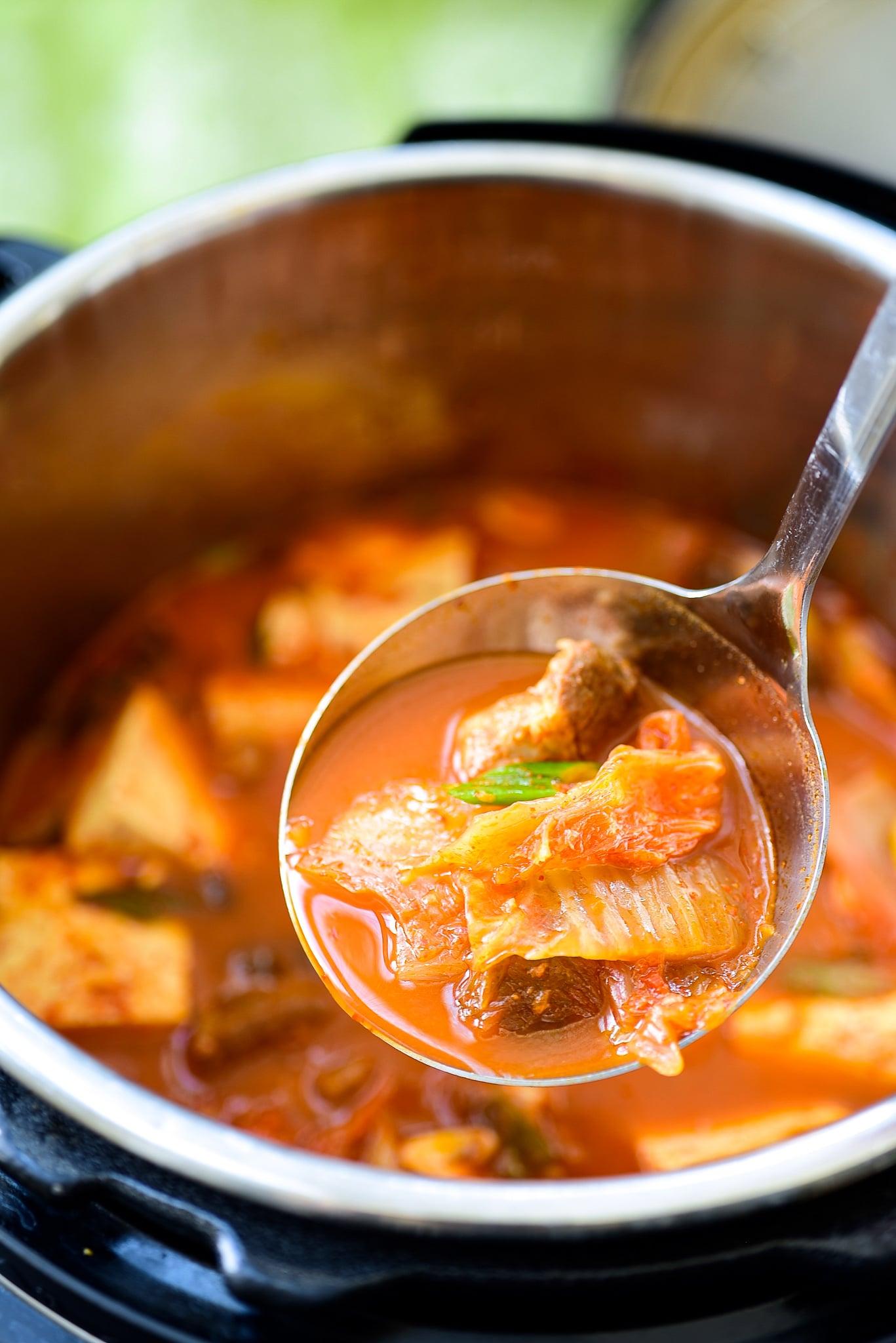 DSC 2014 1 - Instant Pot Kimchi Jjigae (Stew)