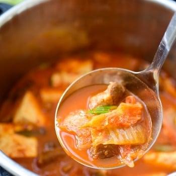 DSC 2014 350x350 - Instant Pot Kimchi Jjigae (Stew)