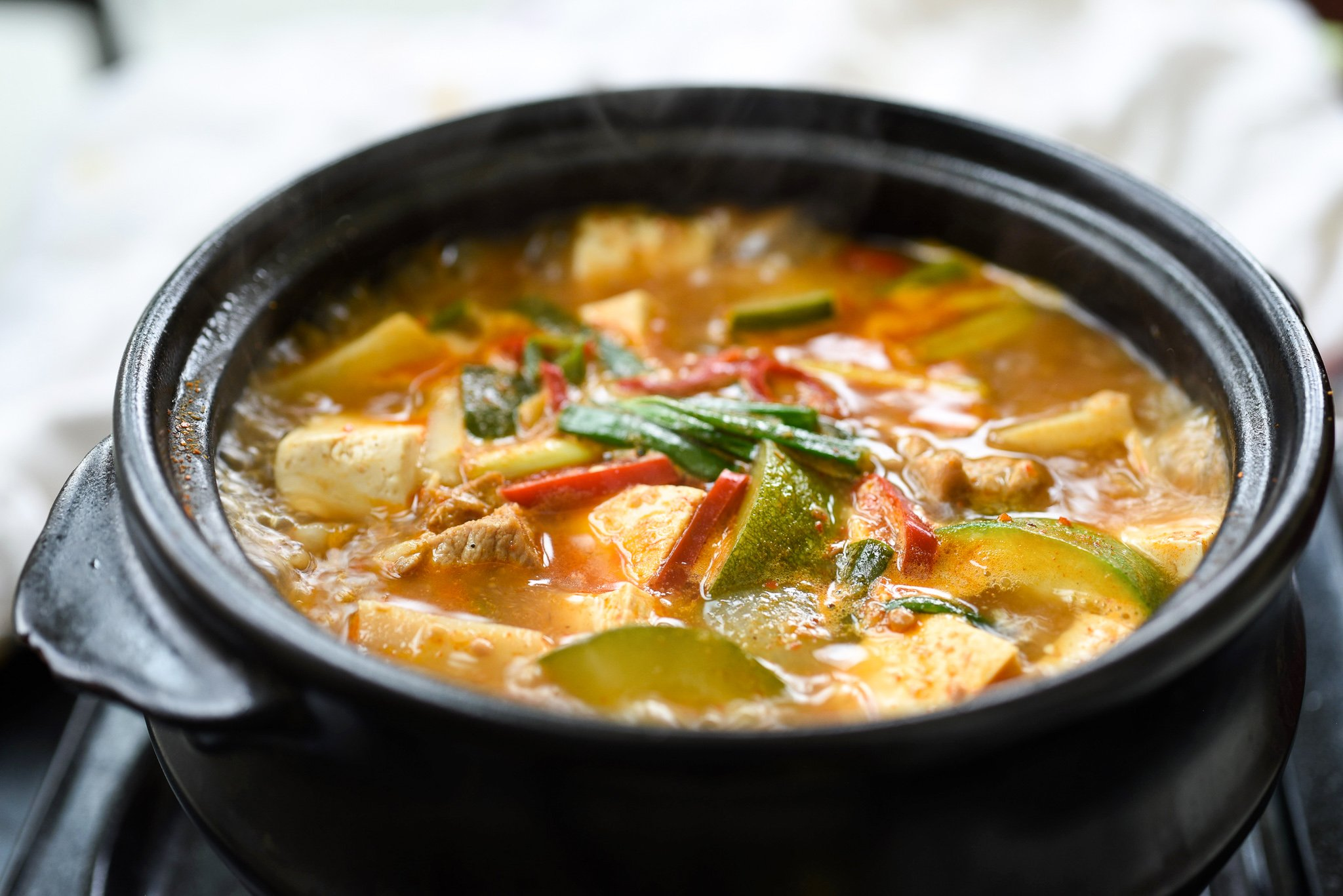 DSC 0672 - Doenjang Jjigae (Korean Soybean Paste Stew)