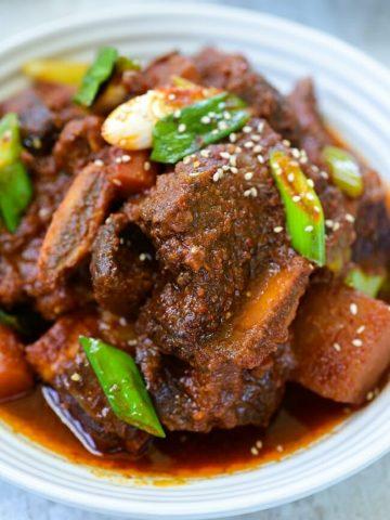 Instant Pot Spicy Galbijjim