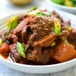 Instant Pot Spicy Beef Short Ribs