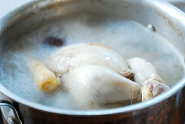 DSC 0570 600x402 - Samgyetang (Ginseng Chicken Soup)