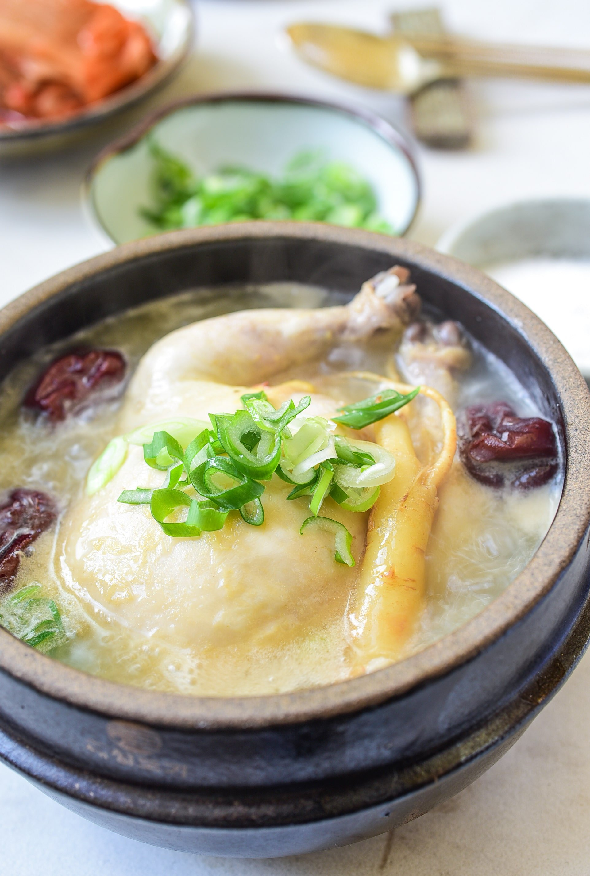 DSC 5082 2 1 - Samgyetang (Ginseng Chicken Soup)
