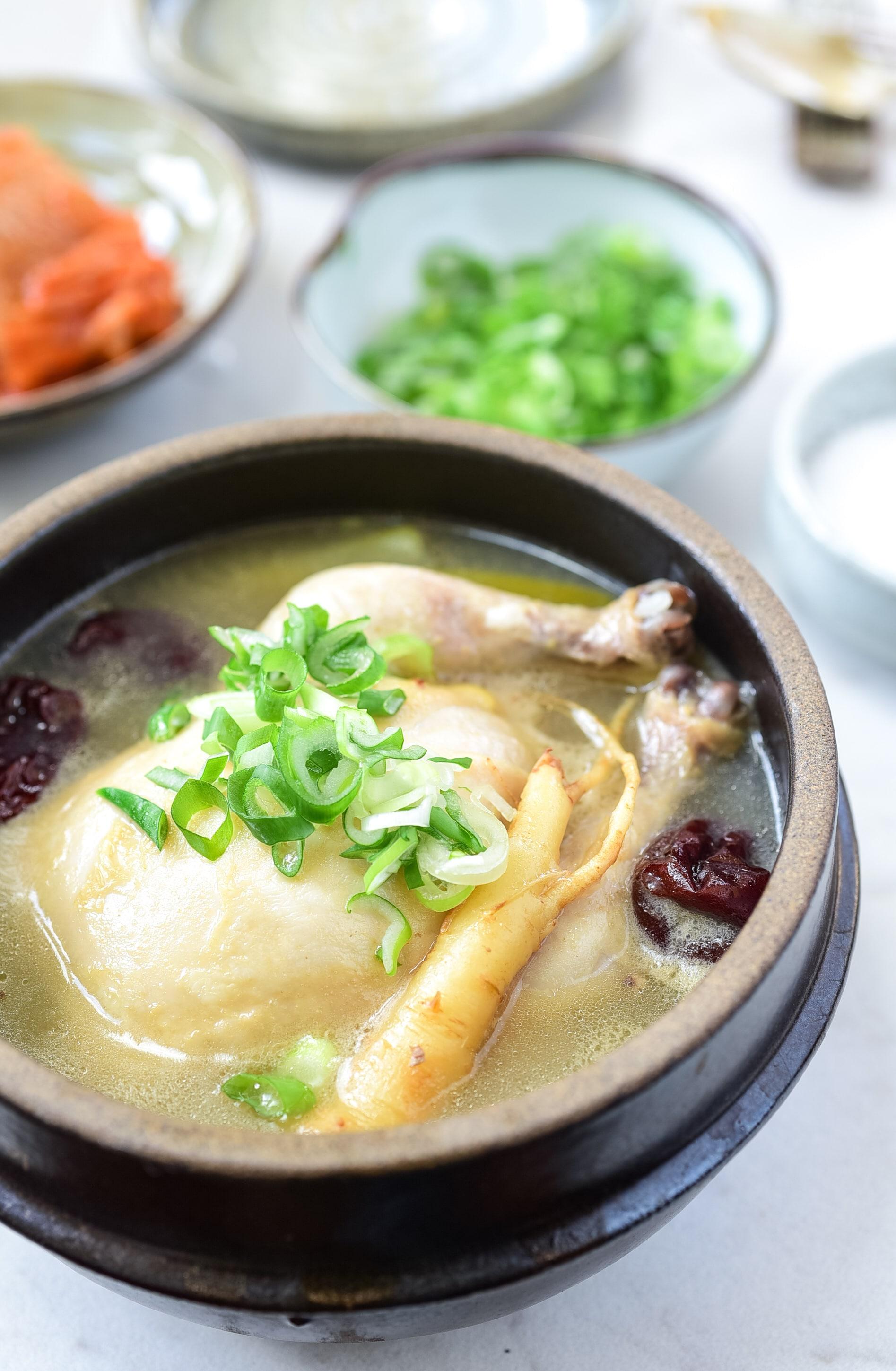 DSC 5098 1 - Samgyetang (Ginseng Chicken Soup)