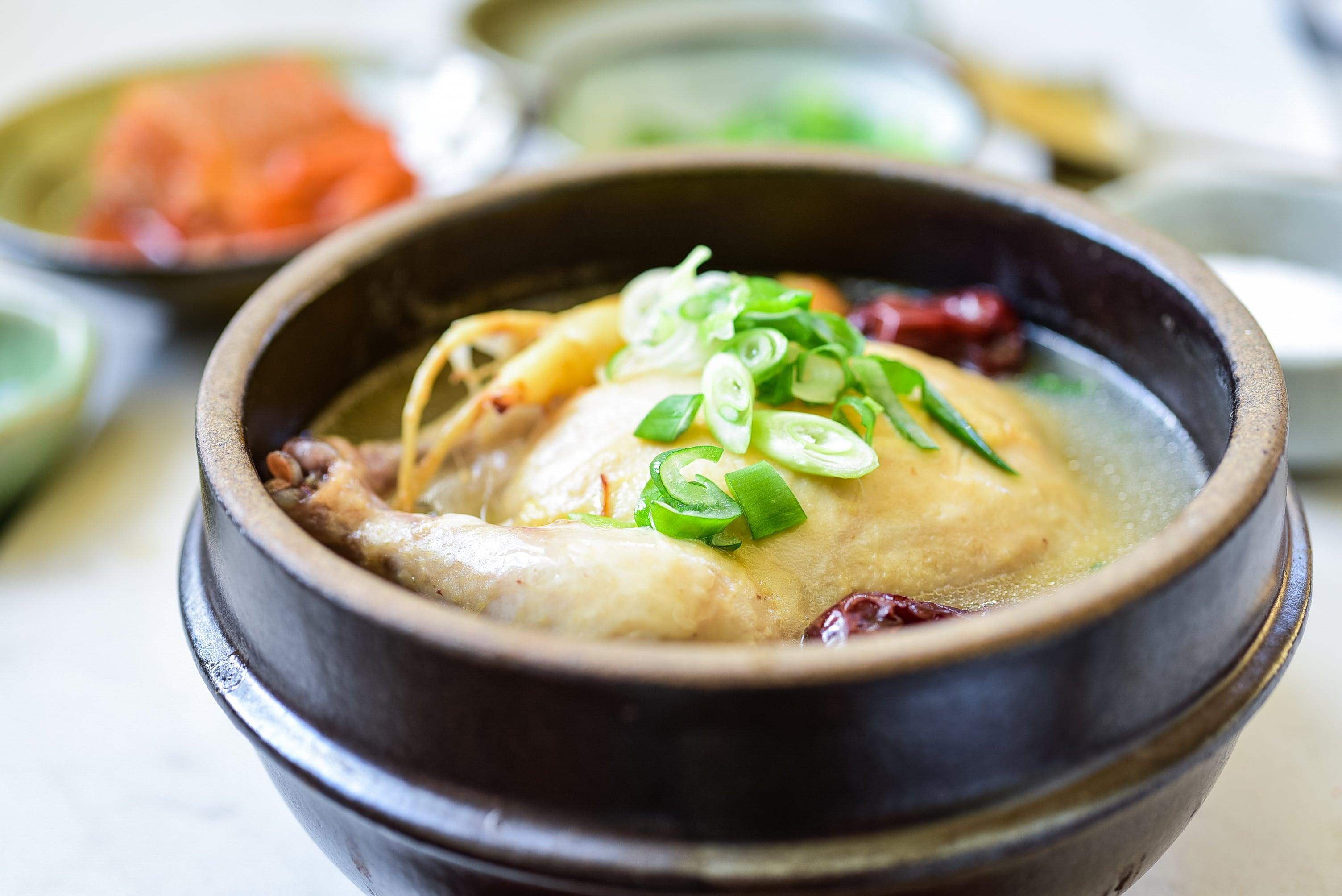 DSC 5116 - Samgyetang (Ginseng Chicken Soup)