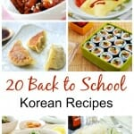 20 Back to School Korean Recipes