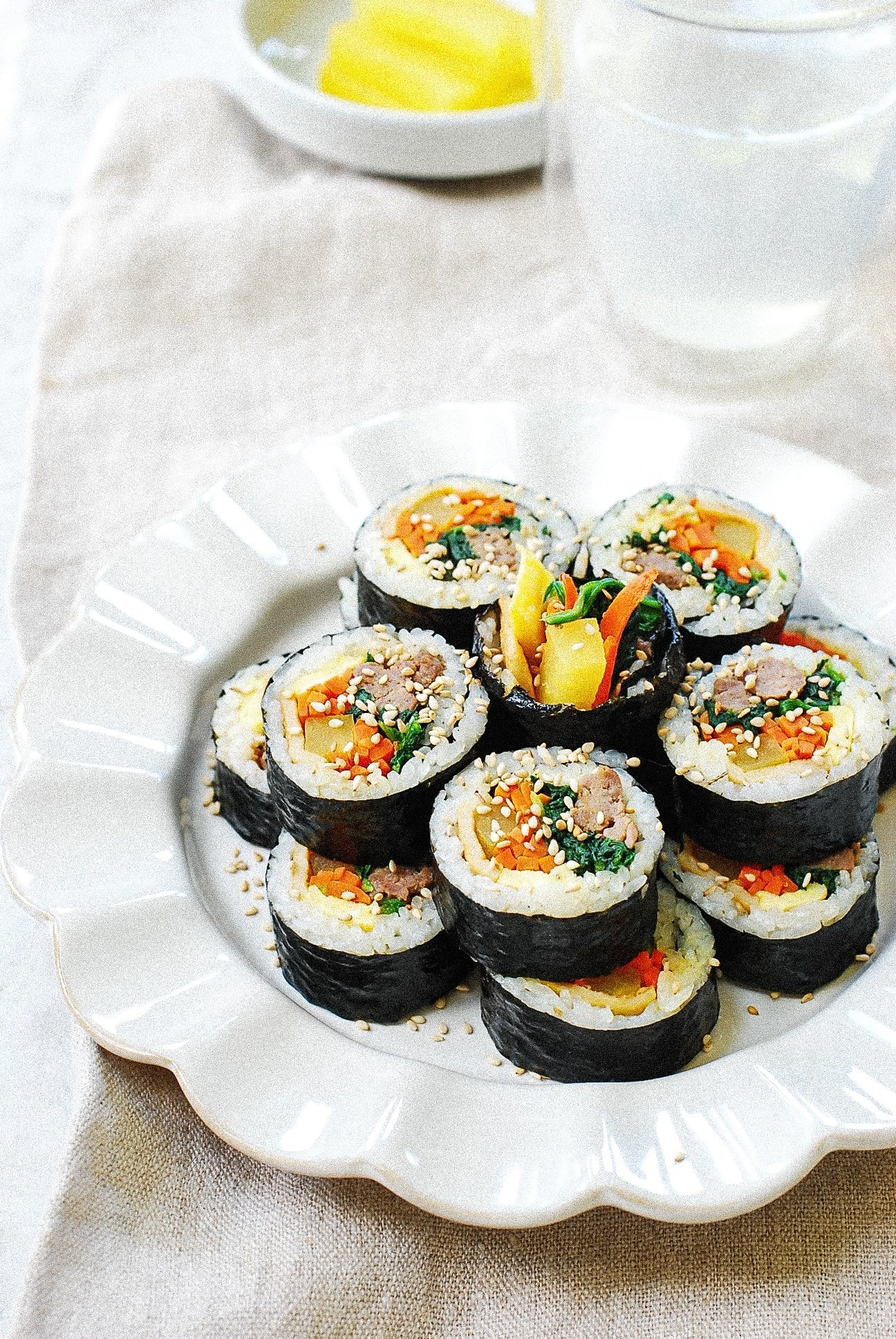 DSC 0427 - Gimbap (Korean Seaweed Rice Rolls)