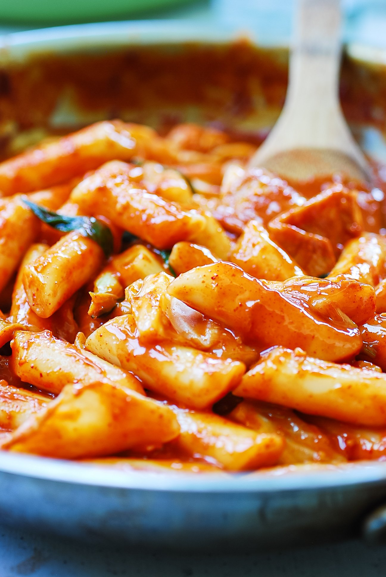 DSC 0845 2 - Tteokbokki (Spicy Stir-fried Rice Cakes)