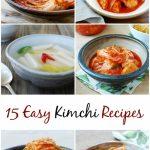 15 kimchi recipes e1540925097657 150x150 - Traditional Kimchi (Napa Cabbage Kimchi)