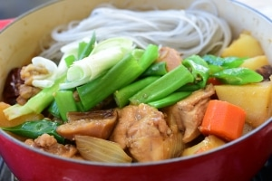 Korean braised chicken