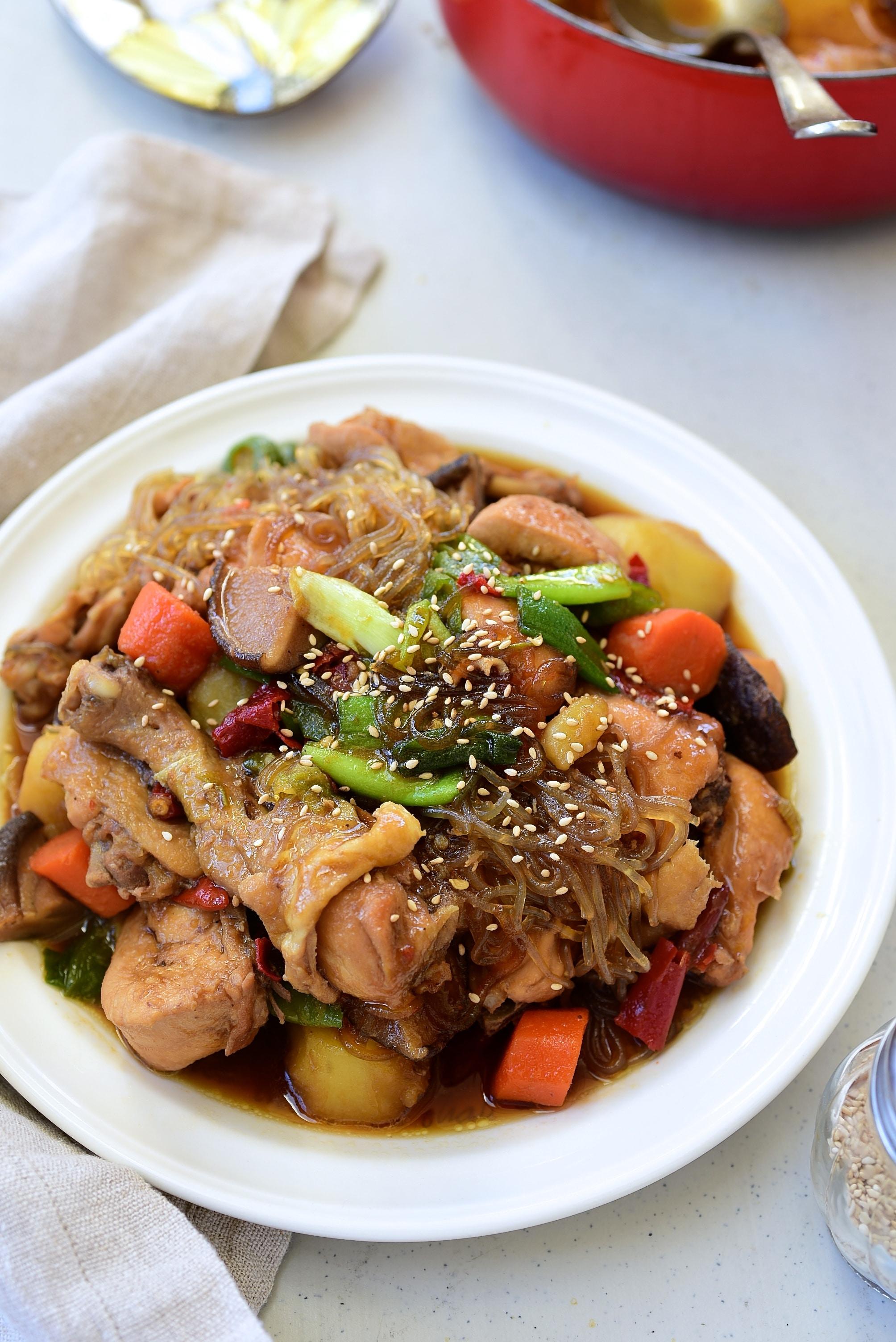 DSC 3285 - Jjimdak (Korean Braised chicken)