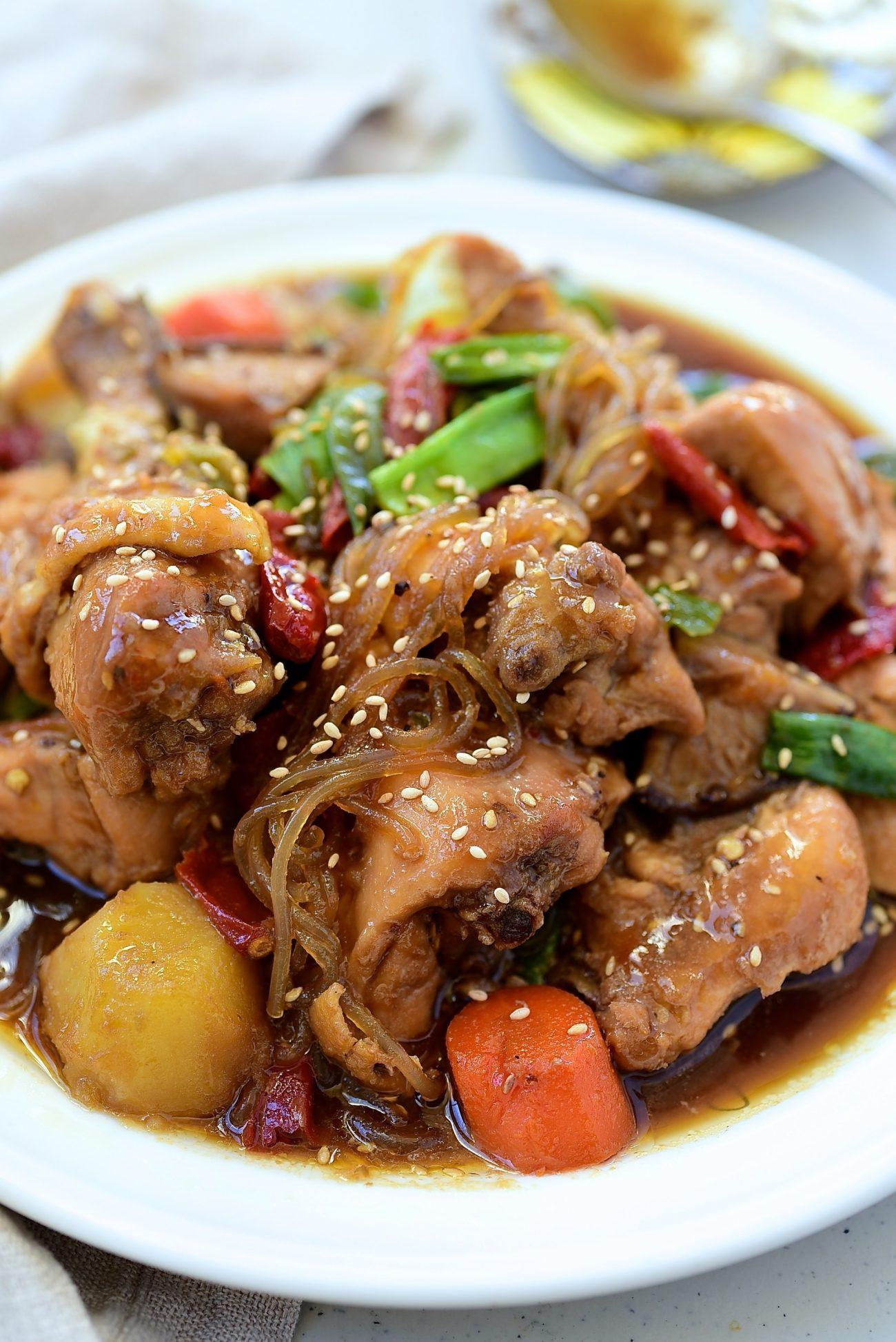 DSC 3326 1 e1613667001991 - Jjimdak (Korean Braised chicken)