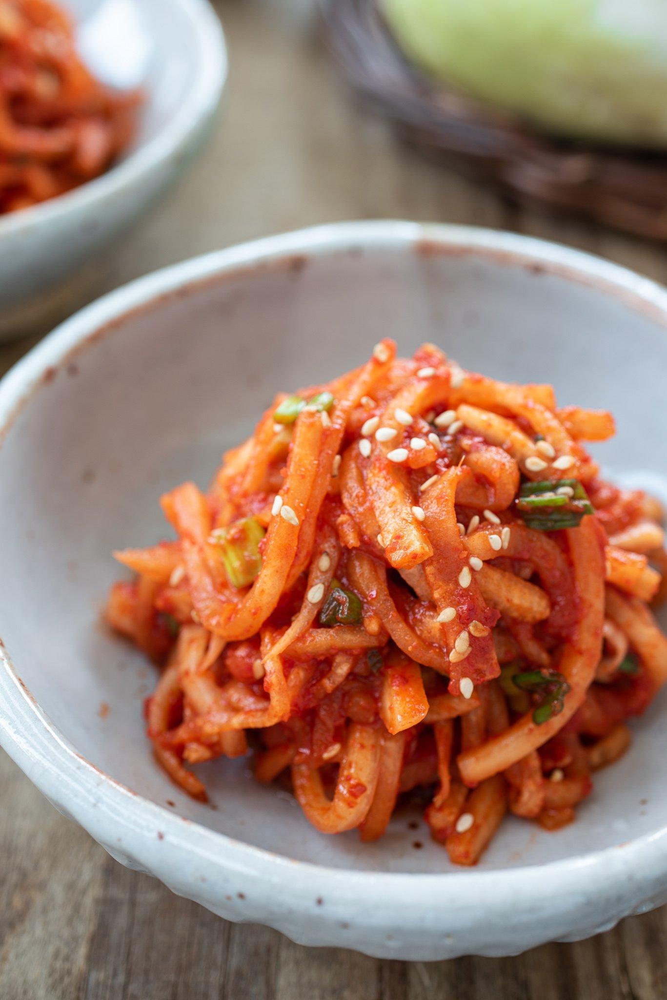 DSC6871 2 - 15 Vegetable Side Dishes (Banchan)