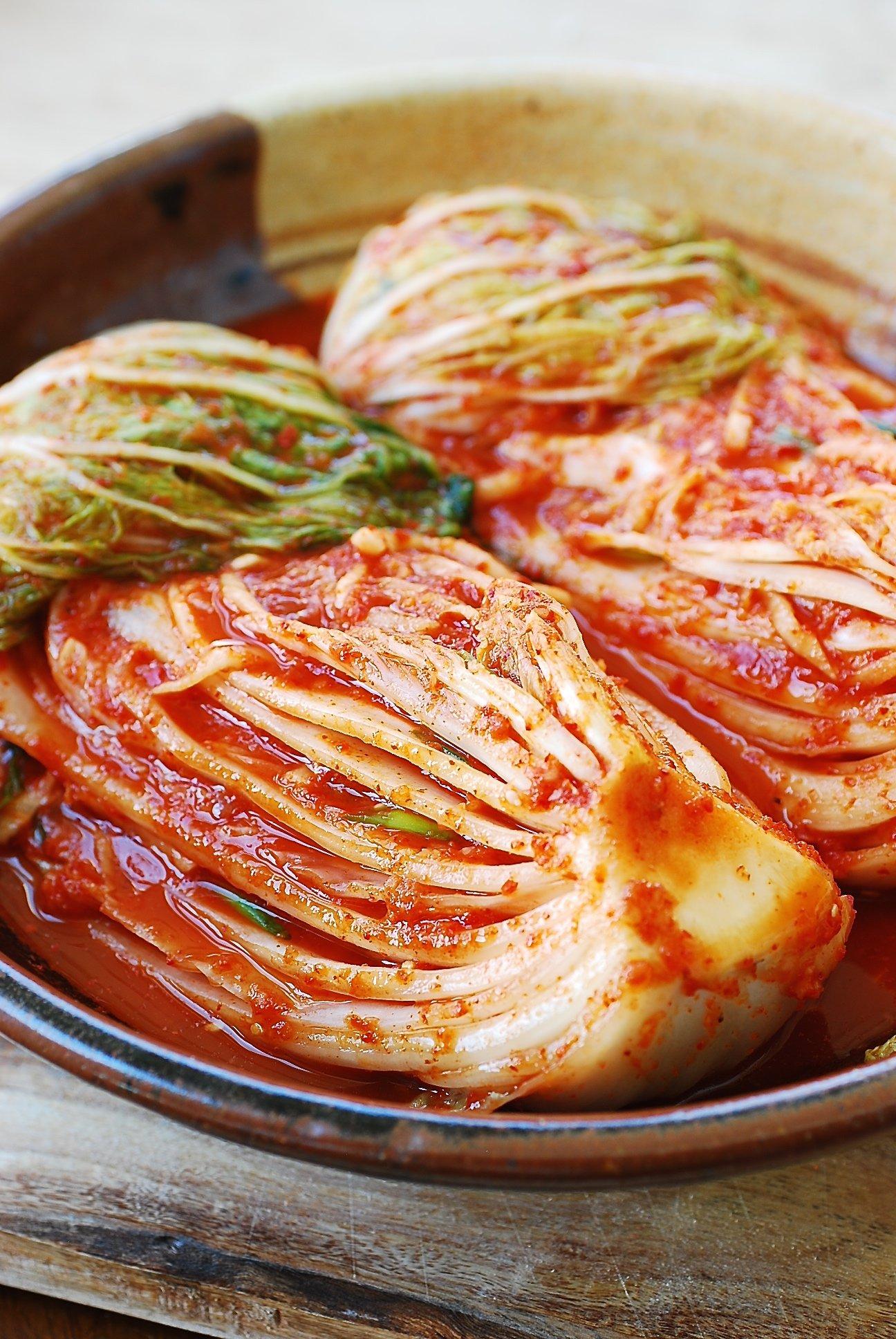 Traditional Kimchi Recipe Napa Cabbage Kimchi Korean Bapsang