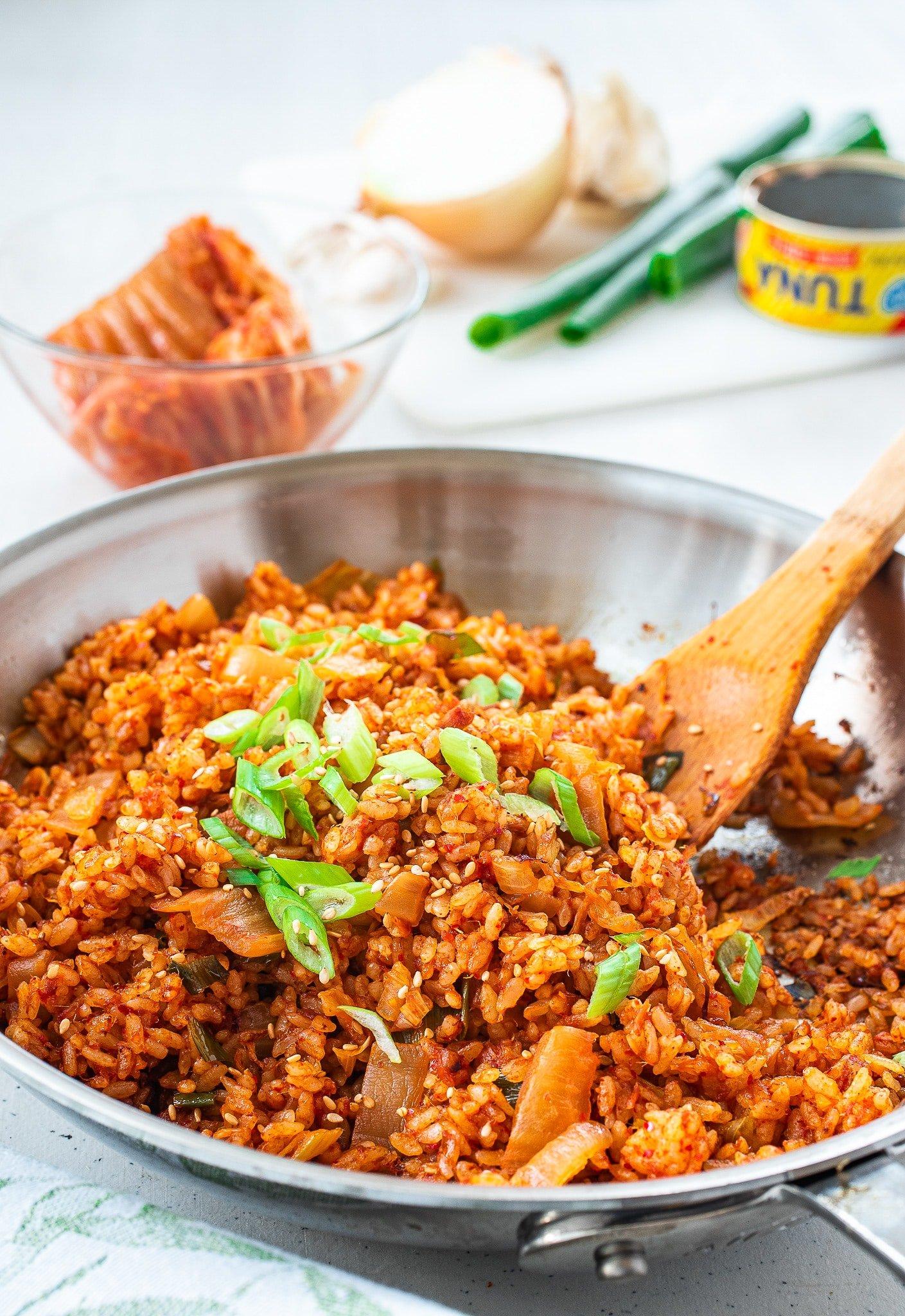 DSC6052 4 - Kimchi Fried Rice (Kimchi Bokkeum Bap)