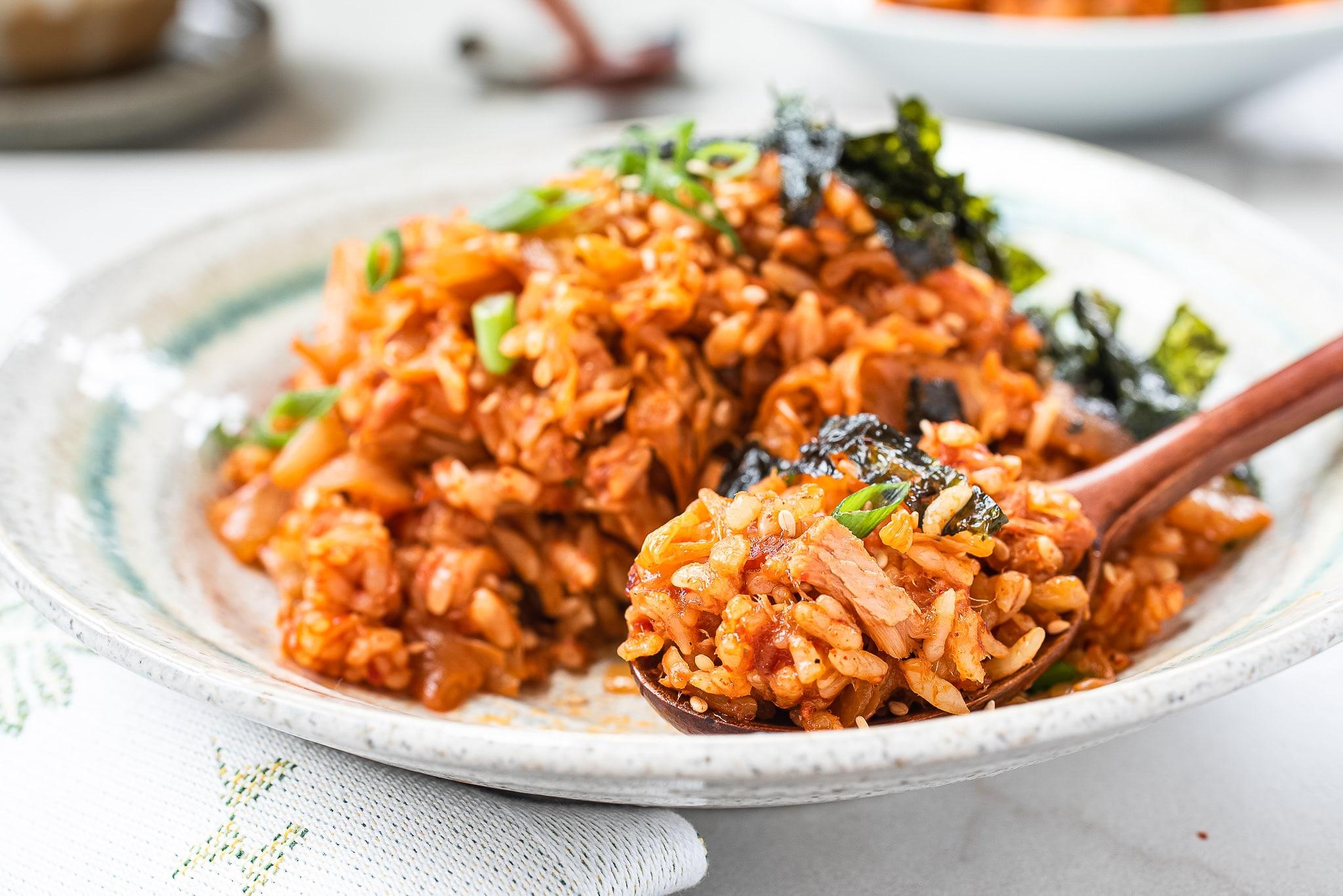 DSC6205 - Kimchi Fried Rice (Kimchi Bokkeum Bap)