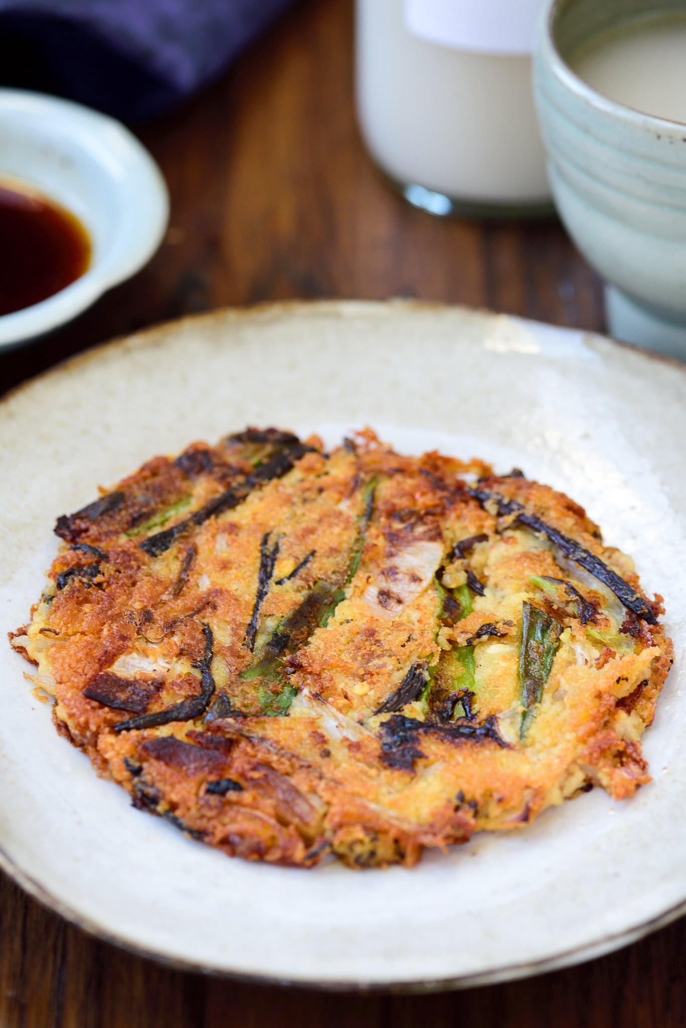 DSC7649 - Nokdujeon (Mung Bean Pancakes)