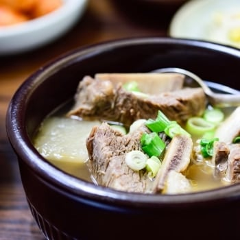 Korean beef short rib soup recipe