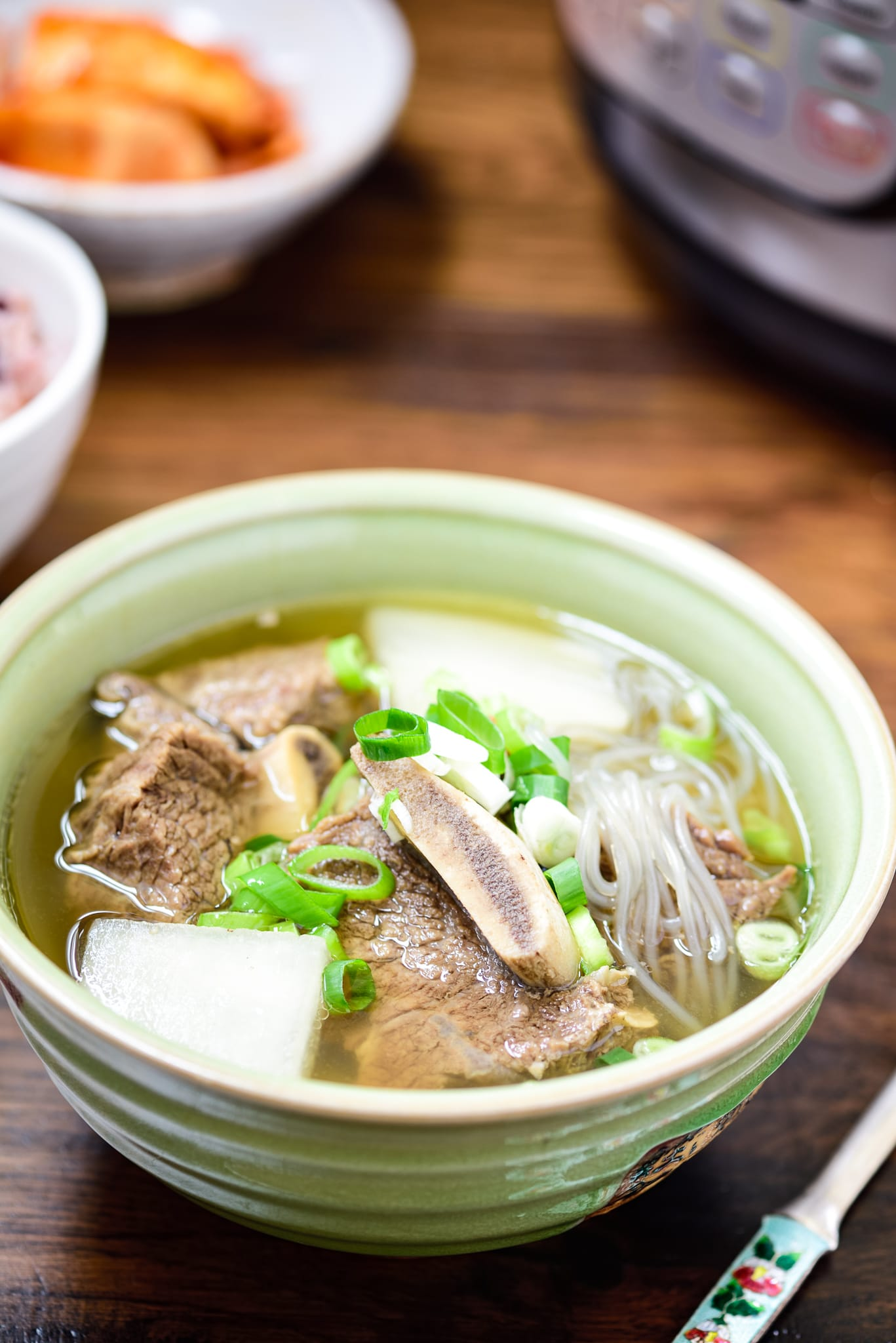 Instant Pot Korean beef short rib soup