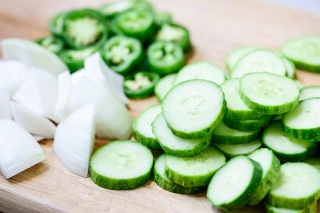 DSC2087 640x427 - Jangajji (Vegetable Pickles)