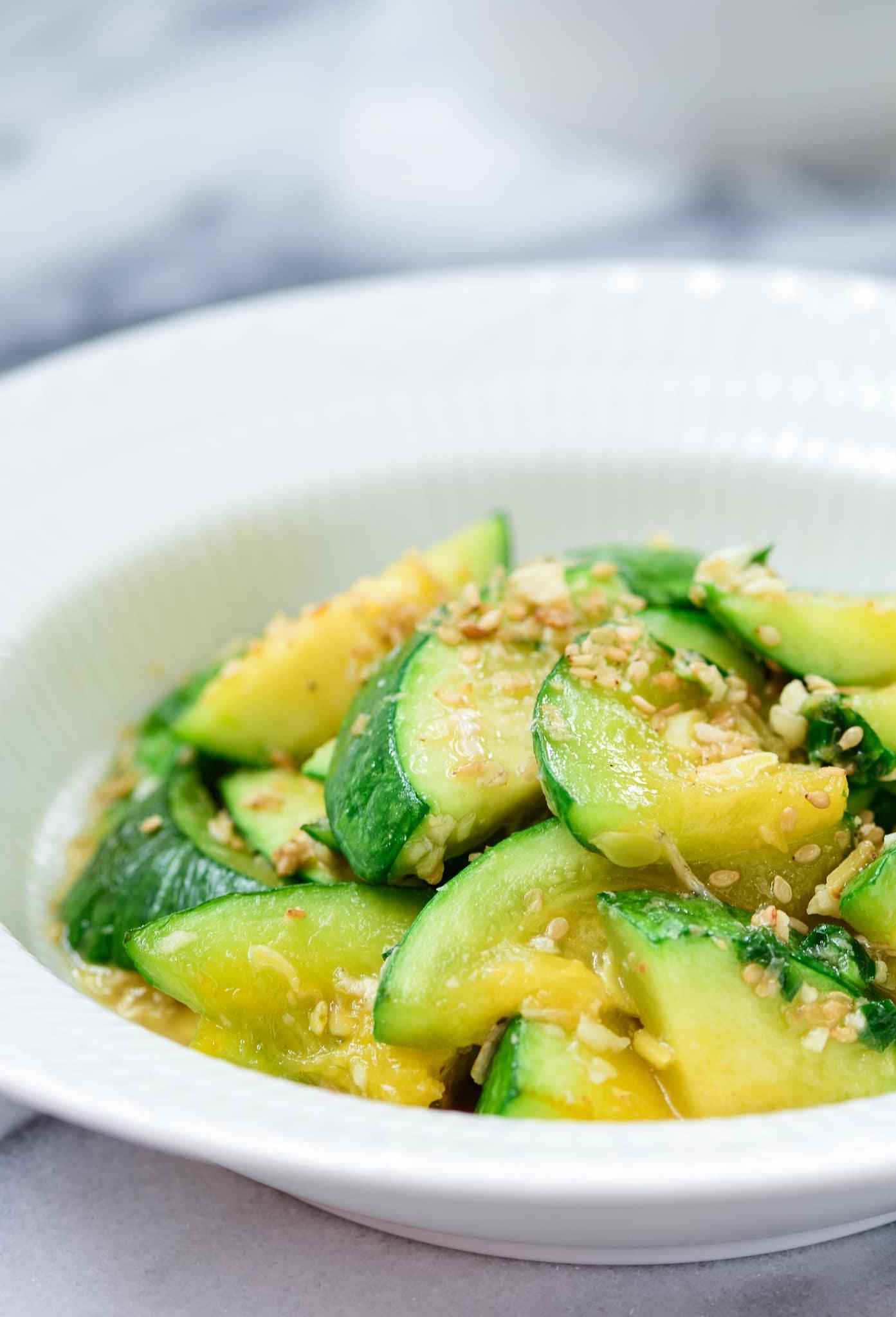 DSC2664 1 - 15 Vegetable Side Dishes (Banchan)