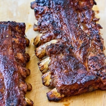 Korean BBQ pork ribs