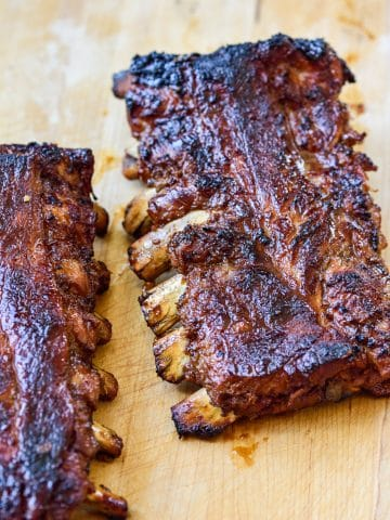 Korean BBQ pork ribs