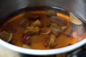 jujube boiled water