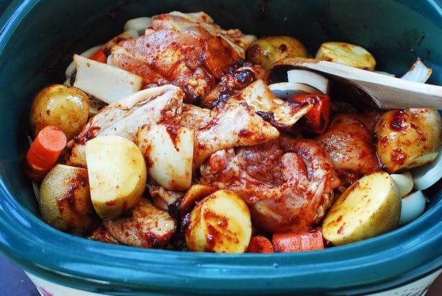 DSC 1566 e1611722194648 640x429 - Dakdoritang (Spicy Chicken Stew)