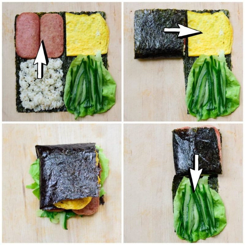 folded gimbap e1613618929640 - Folded Kimbap (or Gimbap)