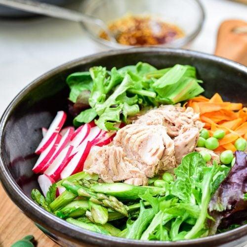 DSC9252 6 500x500 - Tuna Bibimbap with Spring Vegetables