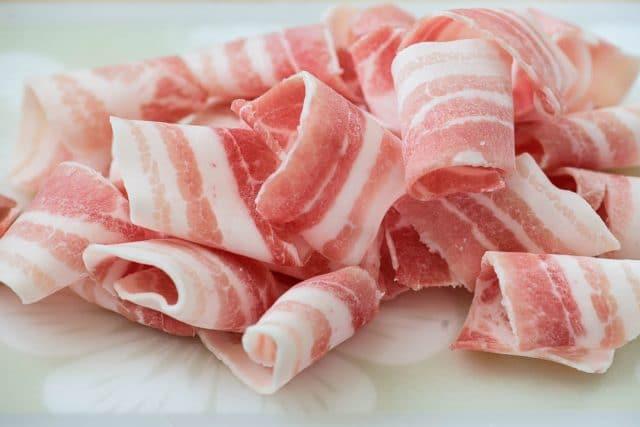DSC0369 2 640x427 - Samgyupsal sukju bokkeum (Stir fried pork belly and bean sprouts)