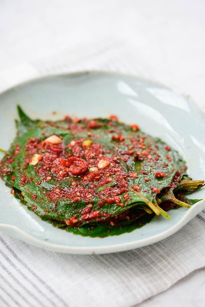 DSC1696 - Kkaennip Kimchi (Perilla Kimchi)
