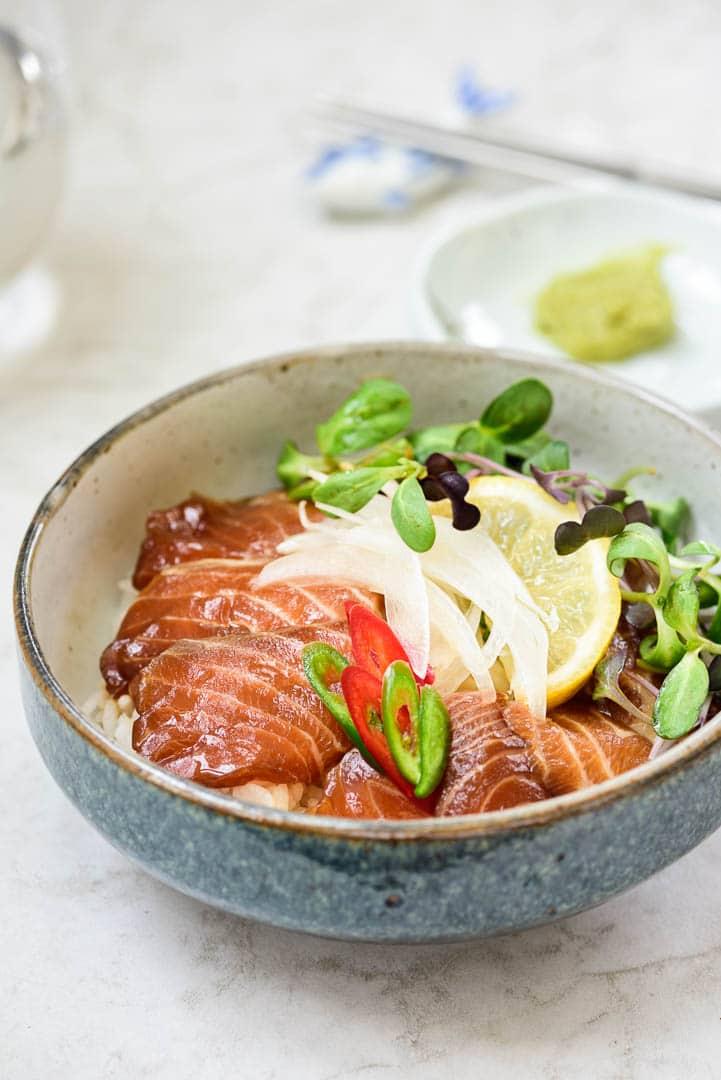 DSC1286 2 - Yeoneojang (Soy Marinated Raw Salmon)
