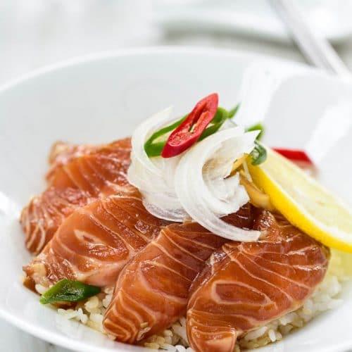 DSC2017 500x500 - Yeoneojang (Soy Marinated Raw Salmon)