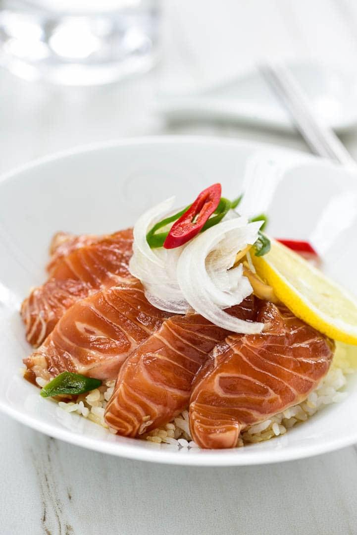 DSC2017 - Yeoneojang (Soy Marinated Raw Salmon)